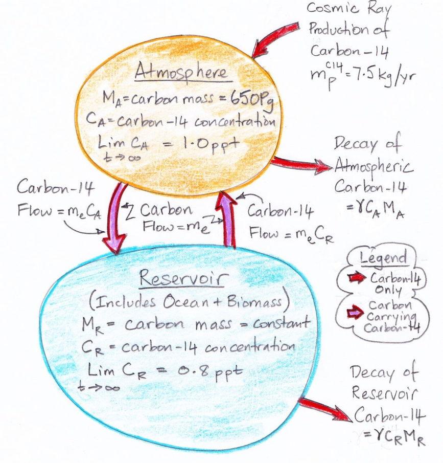 Carbon dating analysis